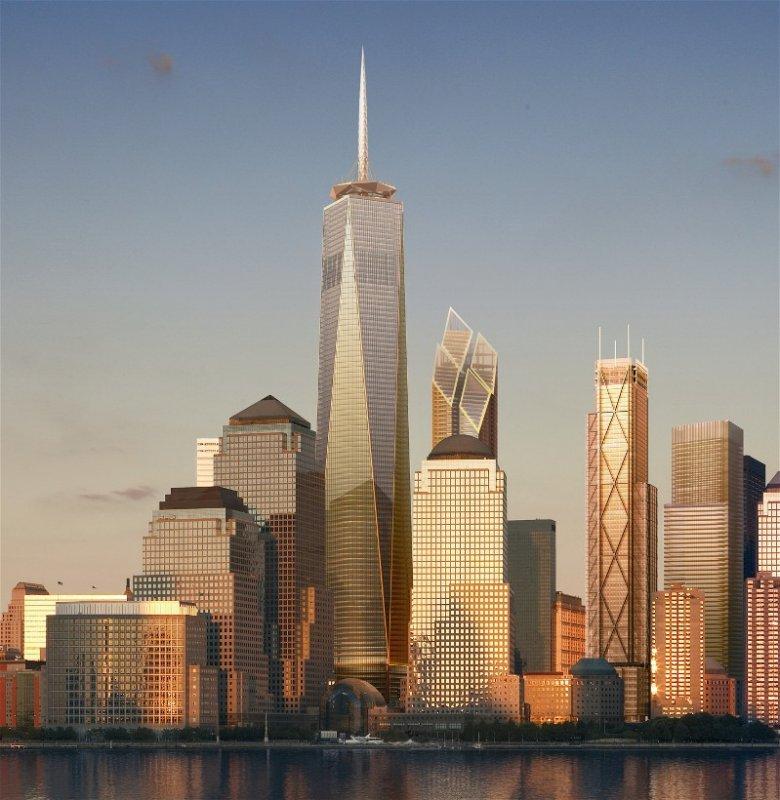 High Quality NEW YORK | One World Trade Center | 1,776u0027 Pinnacle / 1,373u0027 Roof | 108  FLOORS   SkyscraperPage Forum