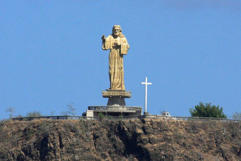 Jesus Overlooking San Juan del Sur, Nicaragua