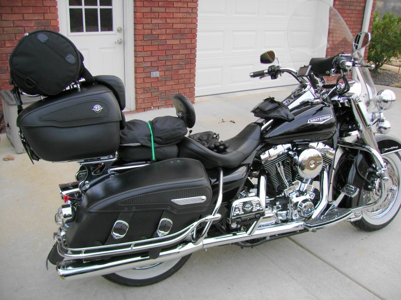 Road King Leather Tour Pack