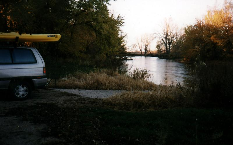 Dawn at River Runner Access-West Bend IA
