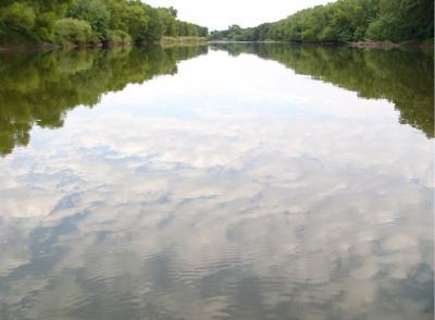 Des Moines River, Bradgate Reflections