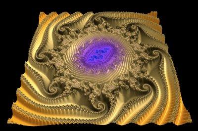 Swirly Grape Julia 3D huge
