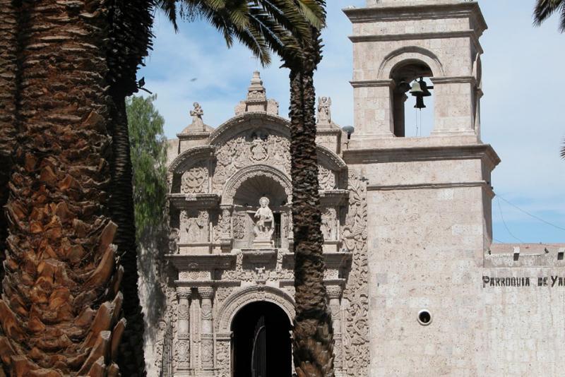 Yanahuara church