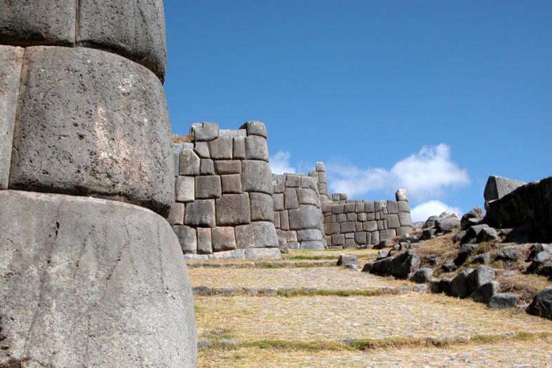 Zig-zag Inca walls