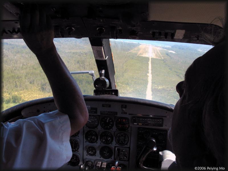 Aiming for landing
