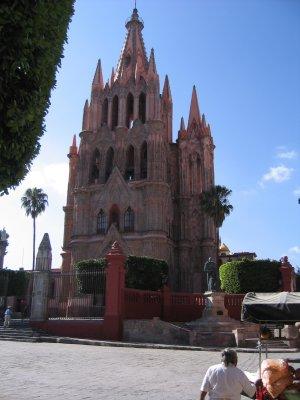 San Miguel, Sunday morning