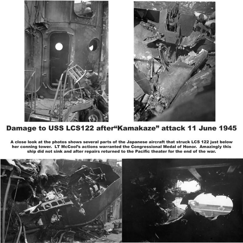 KAMAKAZE attack USS LCS122
