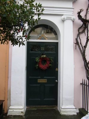 Christmas Doorway