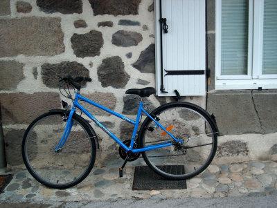 Blue Bicycle, Polminhac 2005