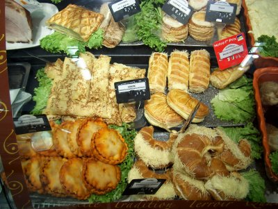 Bakery items, Aurillac 2005