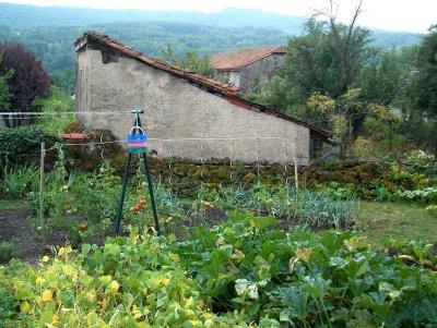 Medieval Garden in Polminhac 2005