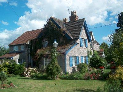 Blue Cottage in Bristol, 2005