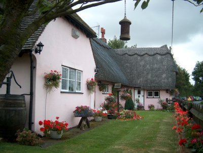 Thatched Pink Cottage, Little Baddow 2005