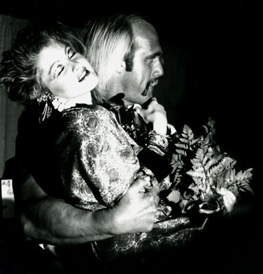 Cyndi Lauper & Hulk Hogan 1984 Grammy's