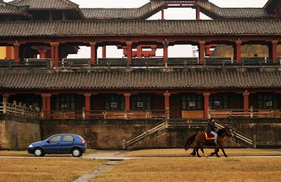 A ride through time, Hengdian, China, 2006