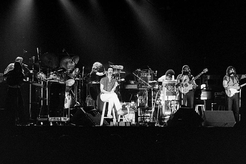 Frank Zappa, Vinnie Colaiuta, Arthur Barrow, Ed Mann, Tommy Mars, Denny Walley, Peter Wolf, Ike Willis, Warren Cuccurullo