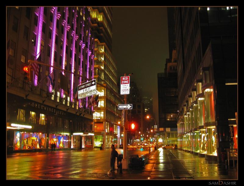 Lustrous Streets - New York