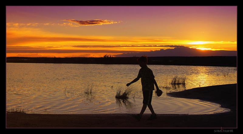 Sunset Walk-V2