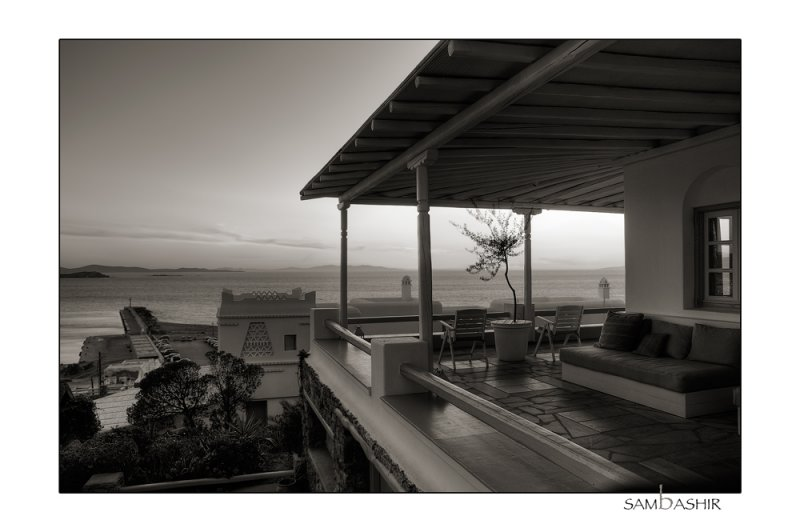 Rain is coming <BR>Mykonos - Greece