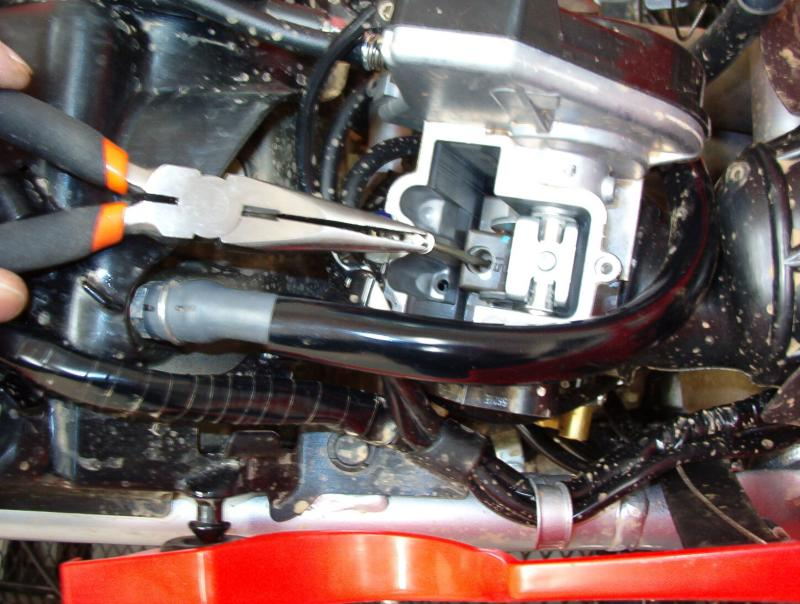 TRX450 Needle Removal