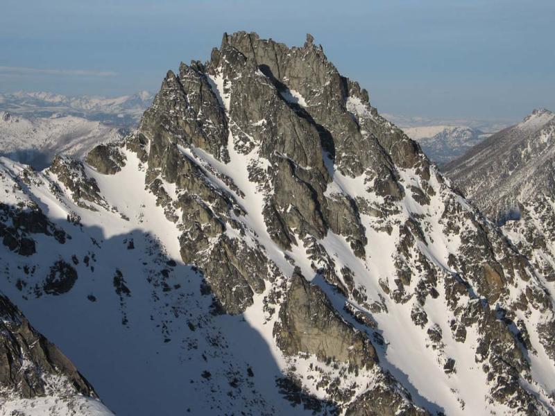 Sherpa SW Face <br>(StuartEnchantments021506-180adj.jpg)