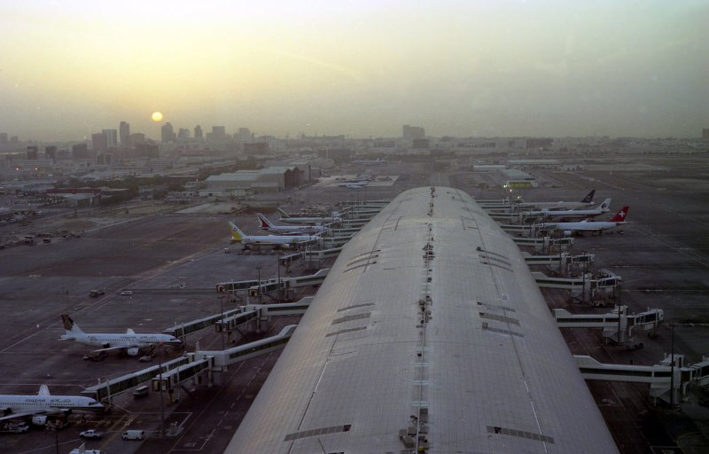 General airfield view @ DXB