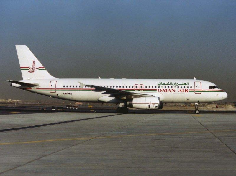 Airbus A-320 A40-MA