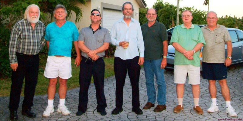 May 2009 - Bob Zimmerman, Terry Bocskey, Alan DeTomaso, Harry Duncan Wilson, Lanny Paulk, Ray Kyse and Don Boyd