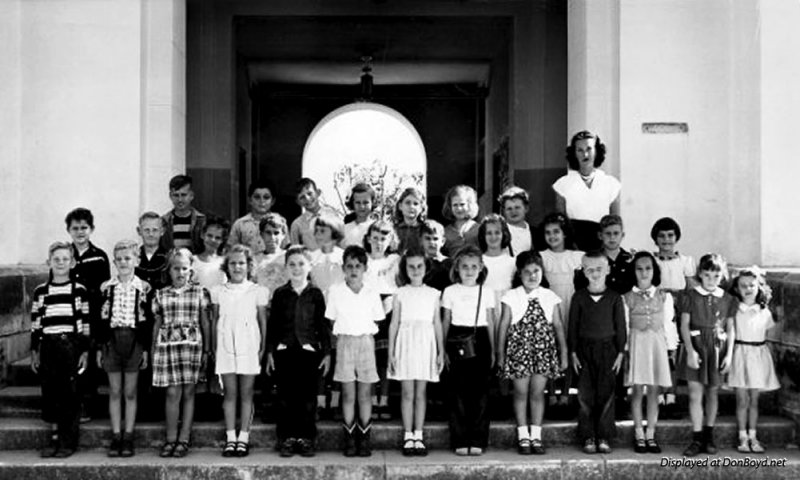 1948 - Mrs. Silvers 2nd grade class at Miami Shores Elementary School, Miami Shores