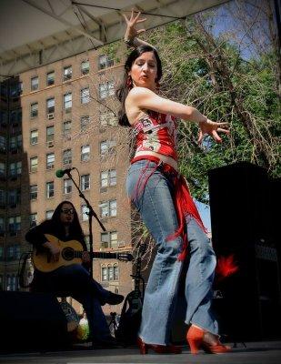 Modern flamenco