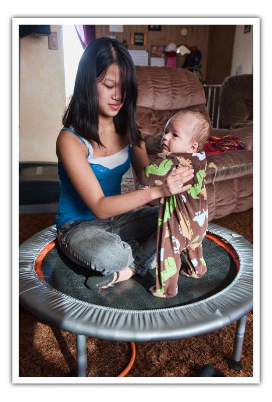 mar 19 trampoline baby