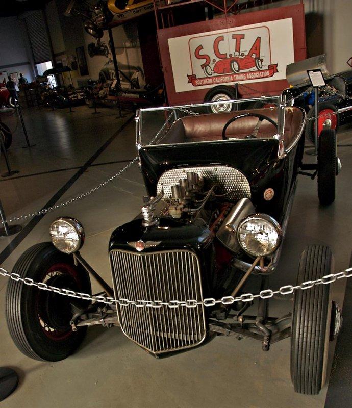 Ed Iskenderians Roadster  - Vintage racer (raced in 1948)