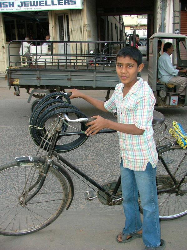 Bicycle Boy