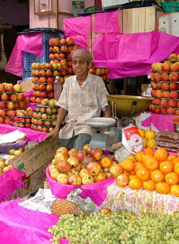 Fruit Stall Boy
