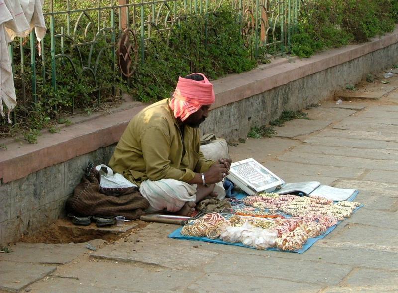 Bangle Seller Two