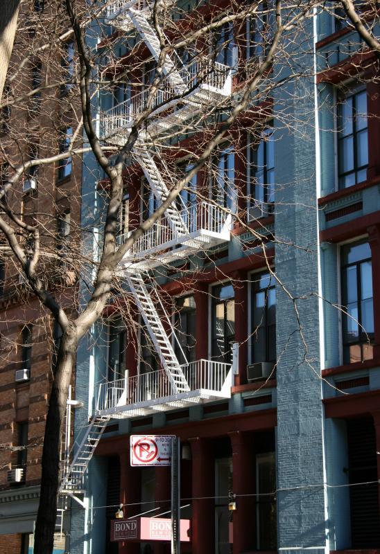 Apartment Building below 4th Street