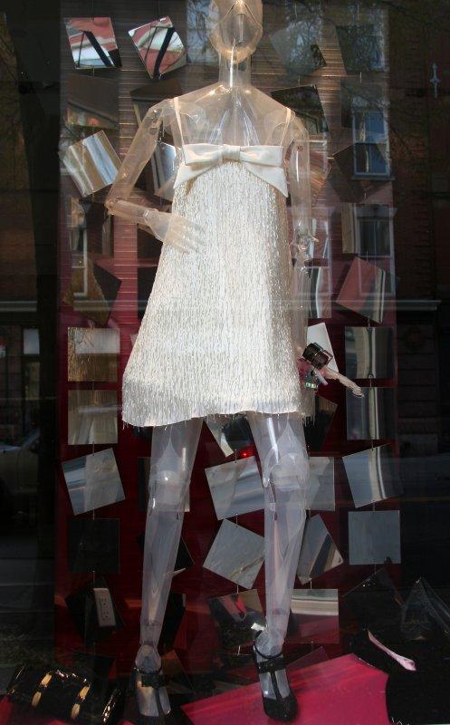 Armani White Dress