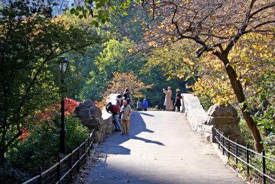 Stone Bridge & Fall Foliage