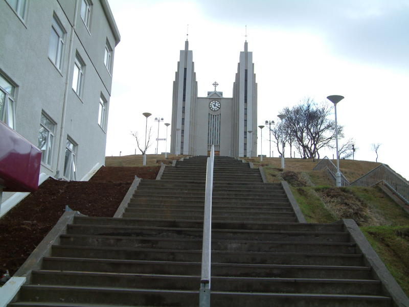 The Akureyri church