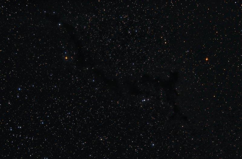 Barnard 150 nebula in Cepheus - 1200 pixels