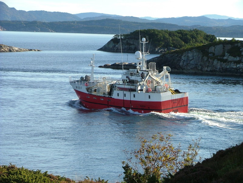 LIDJ - Kvatro-Moere M-55-F Plenty fish - in Rongsund