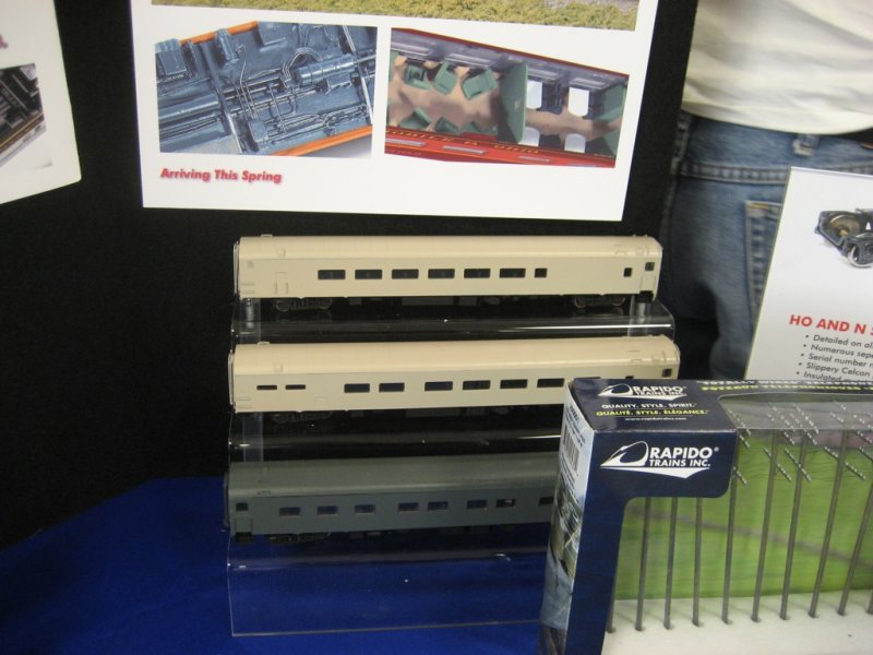 N-scale cars from Rapido
