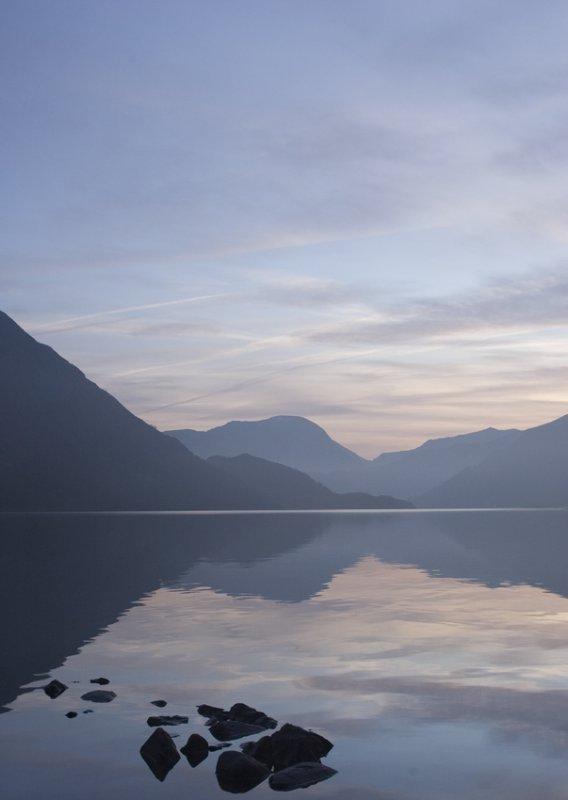 Ullswater Silhouette