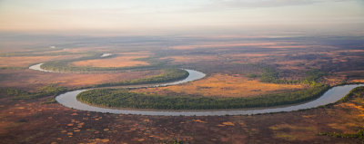 South Alligator River in Kakadu National Park panorama