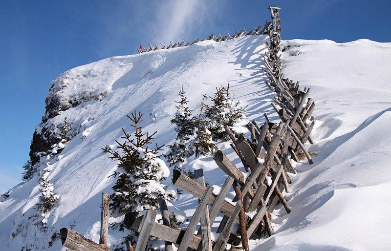 Fence to mount Rigi