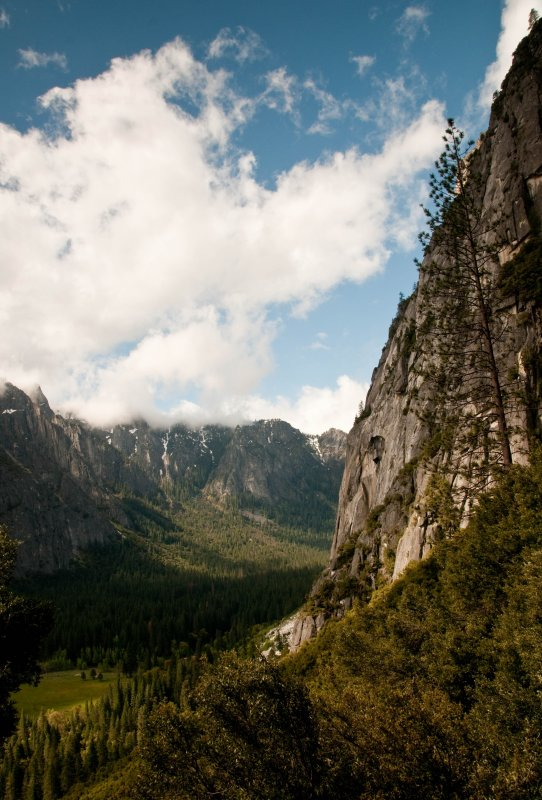 Valley from Yosemite Falls Trail