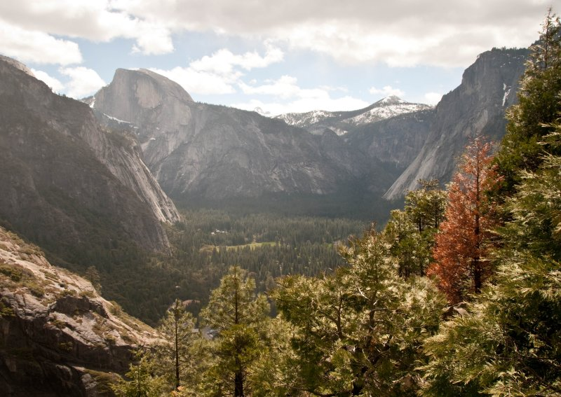 Valley View from Upper Yosemite Falls Trail