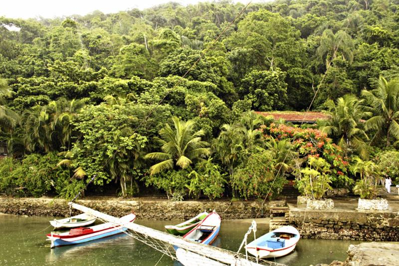 Idyllic island retreat