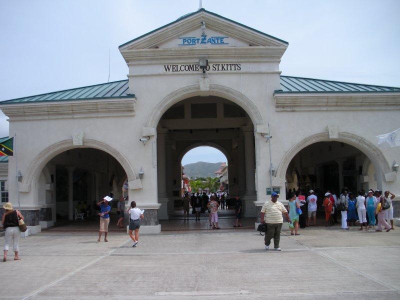 Port at St. Kitts