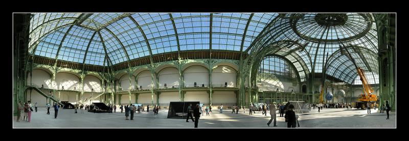 Panorama du Grand Palais